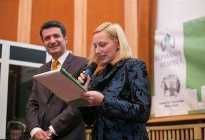 Alexandra Manaila cu ministrul Sanatatii Patriciu Andrei Achimas Cadariu