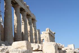 Acropolis Atena in 2012 si 2015